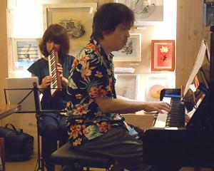 ヤマハ公認ピアニカ奏者によるジャズピアニストとのデュオライヴ