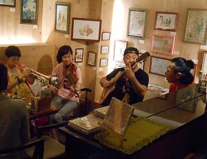 アフロキューバンとブラジル音楽とのジャムセッションライヴ
