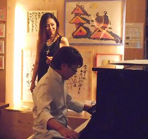 日本のジャズ界をリードするヴォーカリストとピアニストのデュオによるライヴ