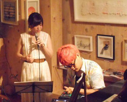 DJ Yuta × Akiko Suda Special Live in Galleria Caffe U_U