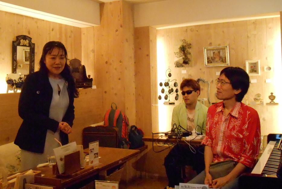 デコパージュ展とDJ Yuta&Yuichiのコラボレーションライヴ!