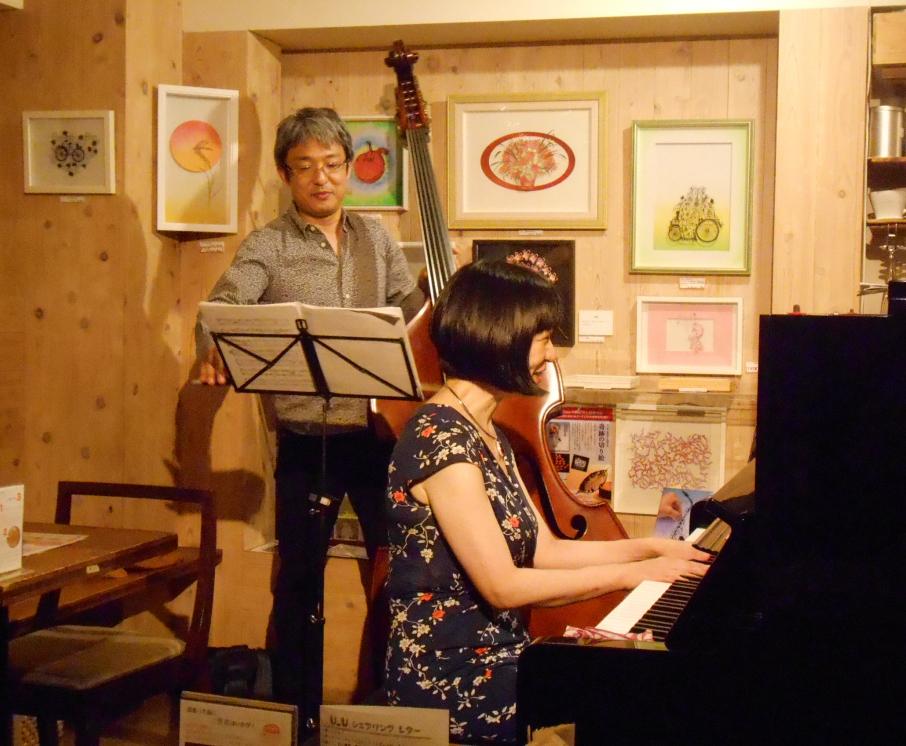 日本の文化を誇りに思う、そんなジャズライヴです