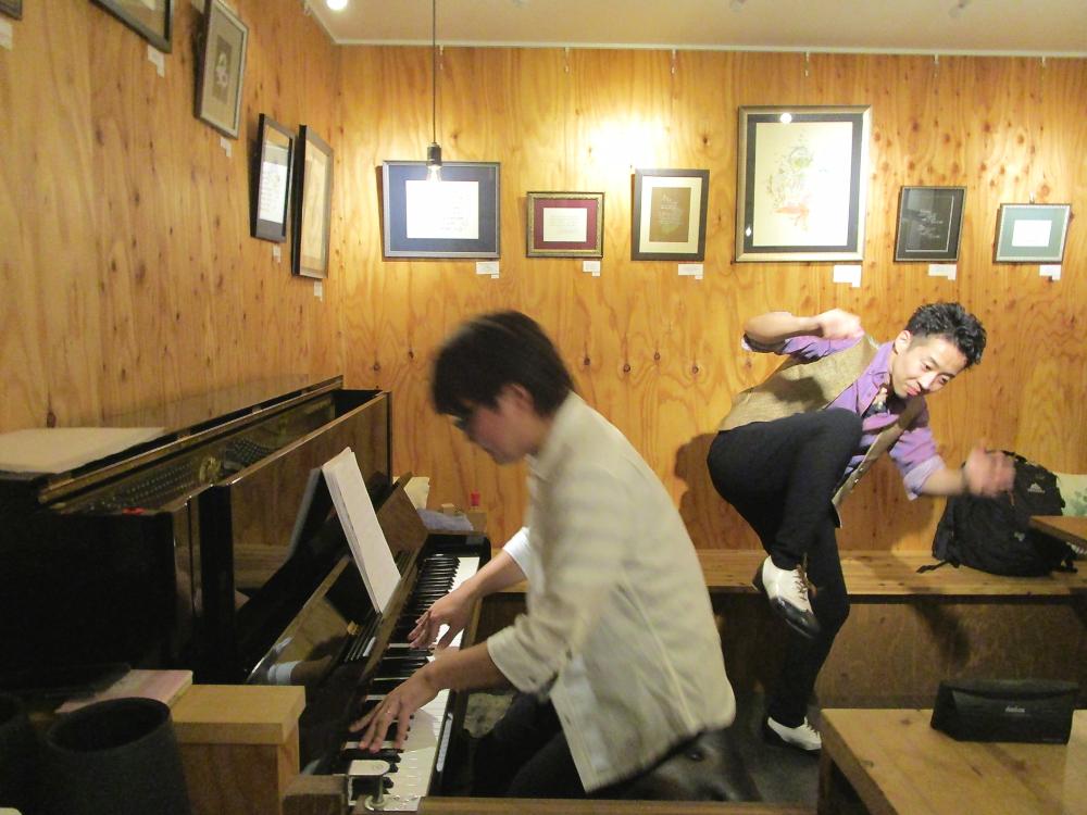 """※リバウンド防止措置に伴い時間変更※ タップダンスとモダンジャズピアノによる歌心溢れる""""ジャズ""""の生演奏です"""